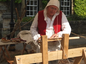 Medieval Pole lathe turning