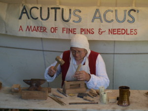 Medieval Pin and Needle maker