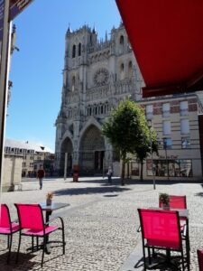 cafe by the cathedral